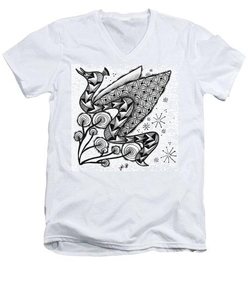 Tangled Serpent Men's V-Neck T-Shirt