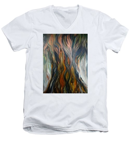 Taotaomo'na Tree Men's V-Neck T-Shirt