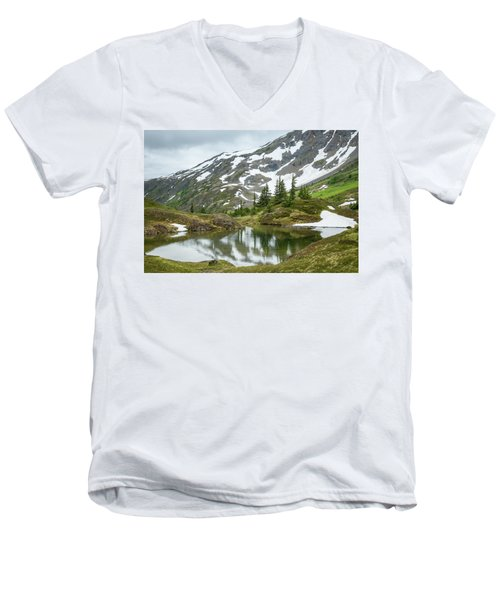 Tarns Of Nagoon 209 Men's V-Neck T-Shirt