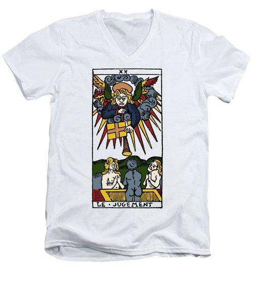 Tarot Card Judgement Men's V-Neck T-Shirt