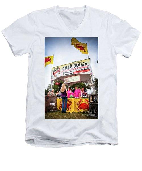Taste Of Charleston Men's V-Neck T-Shirt