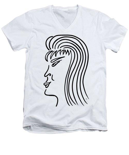 Tatiana Men's V-Neck T-Shirt