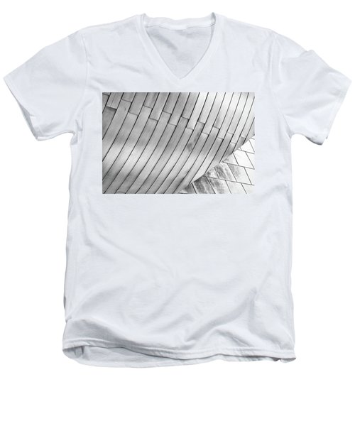 Taubman Museum Abstract Men's V-Neck T-Shirt