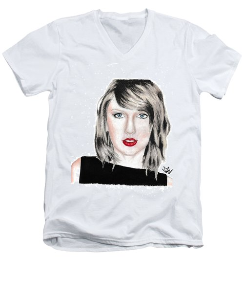 Taylor Swift Men's V-Neck T-Shirt