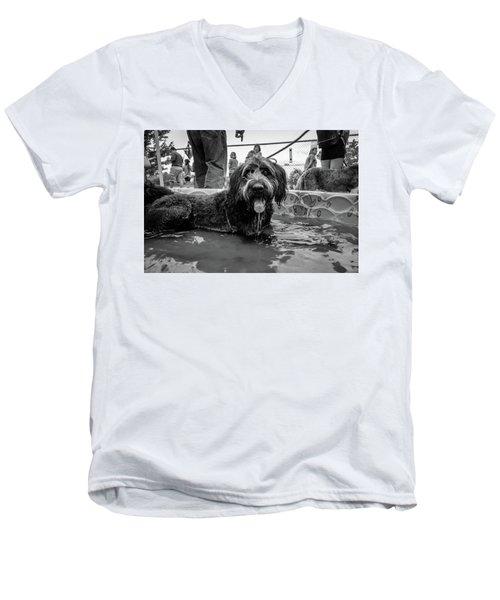 Tdif 65 Men's V-Neck T-Shirt