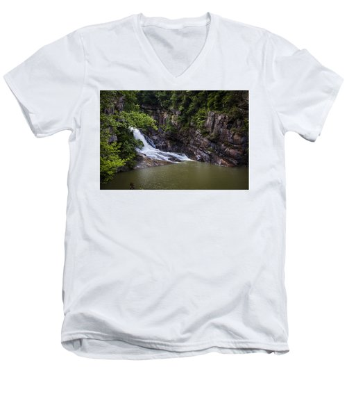 Tallulah Falls Men's V-Neck T-Shirt