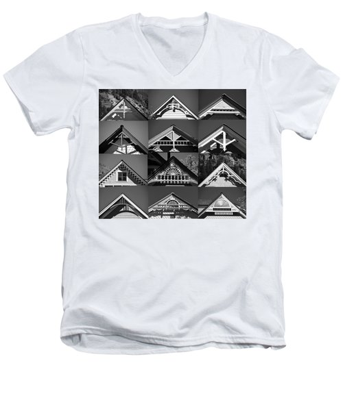 Men's V-Neck T-Shirt featuring the photograph Telluride Classics by David Lee Thompson