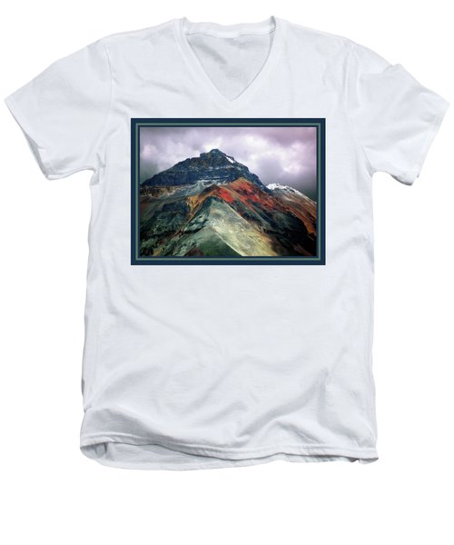 Telluride Mountain Men's V-Neck T-Shirt
