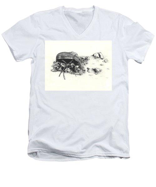 Darkling Beetle Men's V-Neck T-Shirt