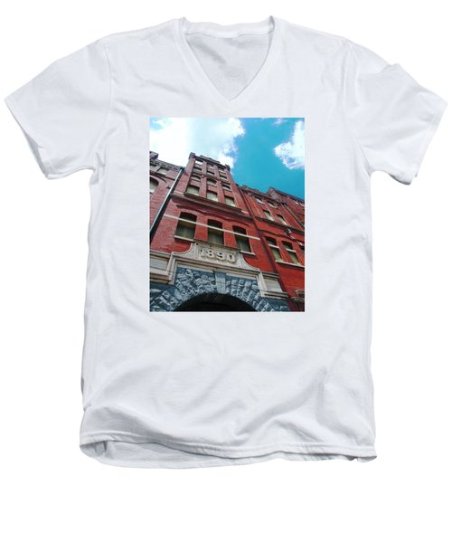 Tennennesee Brewery Memphis Tn Men's V-Neck T-Shirt