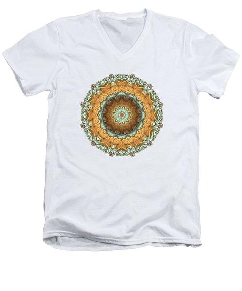 Men's V-Neck T-Shirt featuring the digital art Test by Lyle Hatch