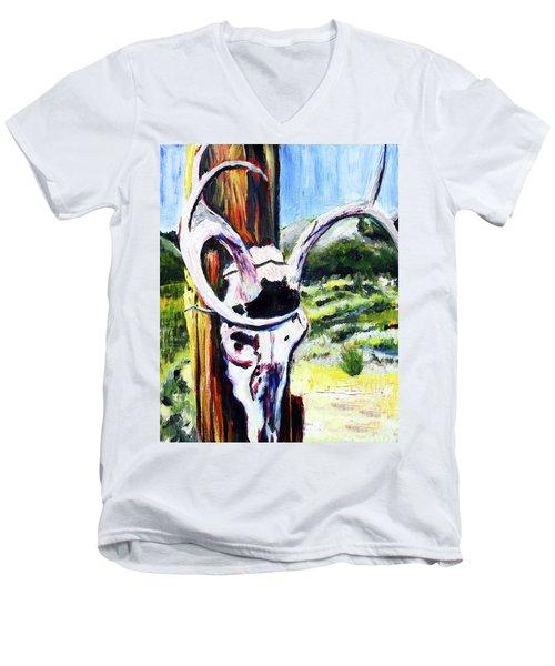 Texas Road Sign Men's V-Neck T-Shirt