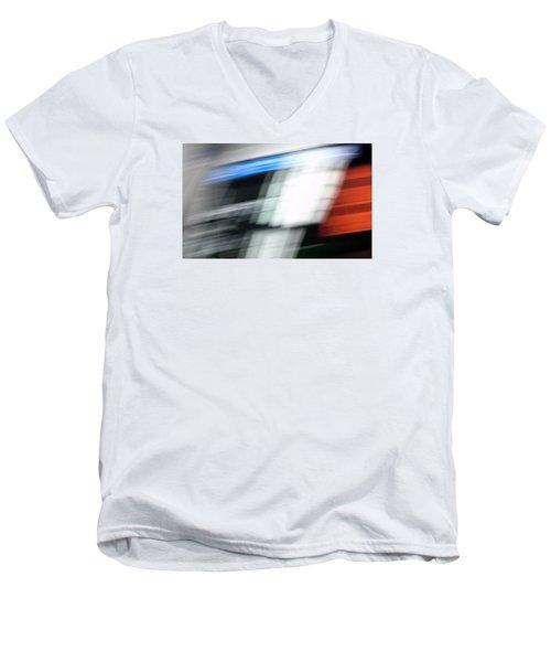 TGV Men's V-Neck T-Shirt by Steven Huszar