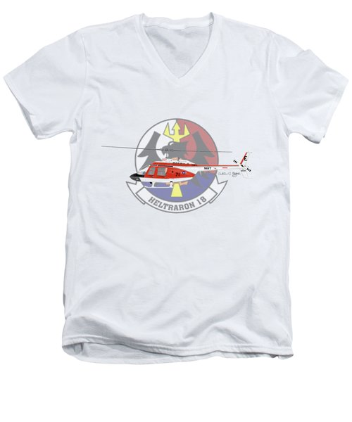 Th-57c Ht-18 Men's V-Neck T-Shirt