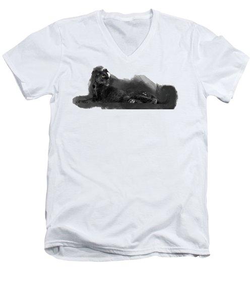 That Beautiful Black Panther Men's V-Neck T-Shirt