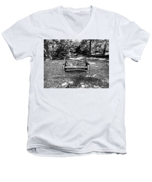 That Weird Bench One Men's V-Neck T-Shirt