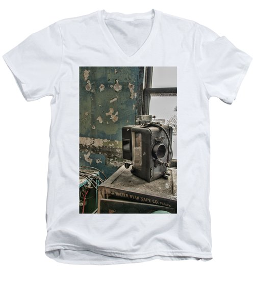The Abandoned Projector Men's V-Neck T-Shirt