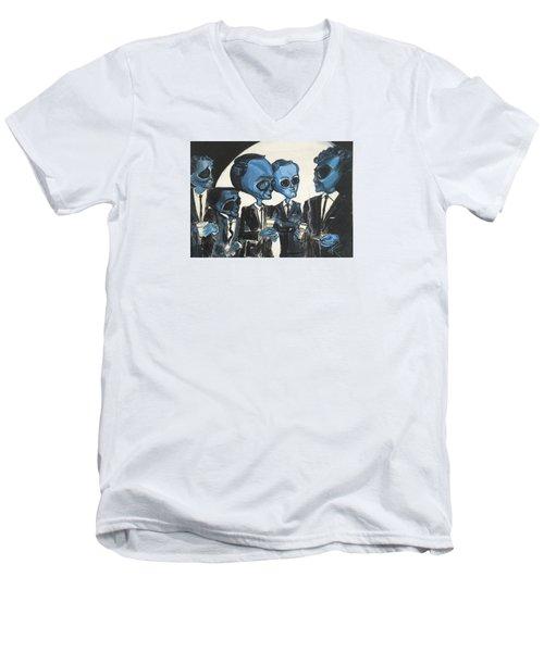 The Alien Rat Pack Men's V-Neck T-Shirt