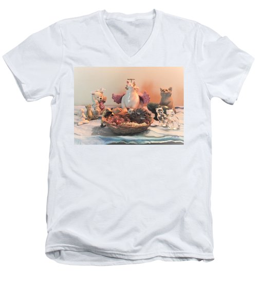 The Animal's United Conference For World Peace Men's V-Neck T-Shirt