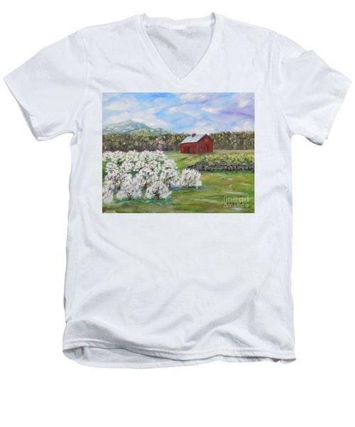 The Apple Farm Men's V-Neck T-Shirt