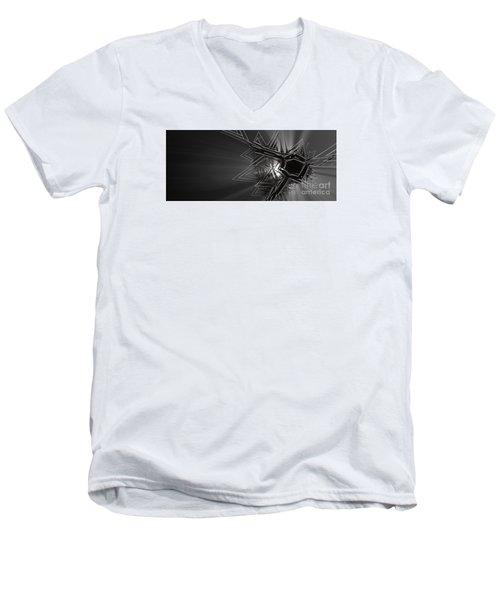 The Art Of Jack Frost Men's V-Neck T-Shirt
