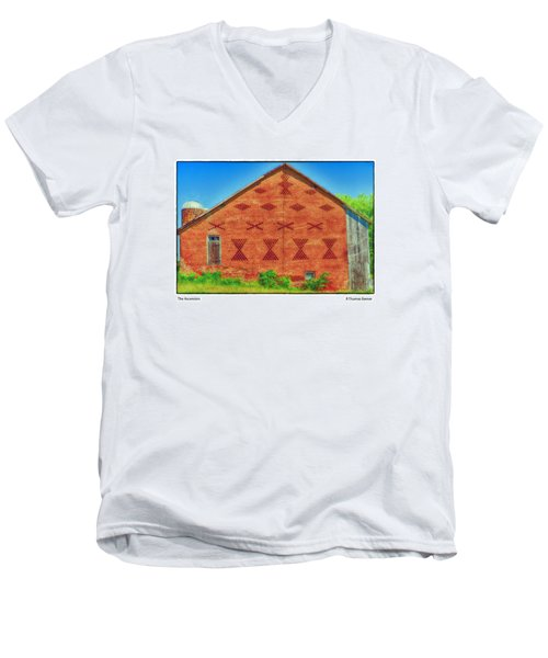 Men's V-Neck T-Shirt featuring the photograph The Ascension by R Thomas Berner