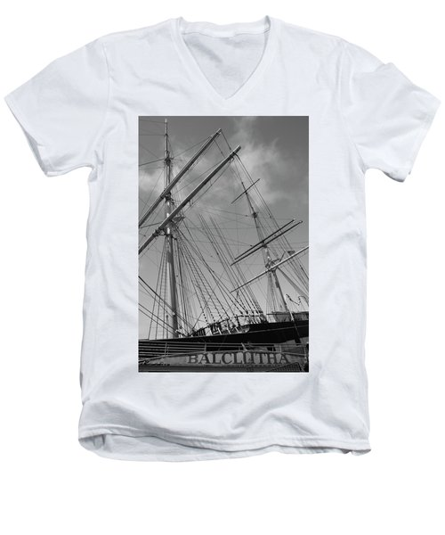 The Balclutha Caravel Men's V-Neck T-Shirt