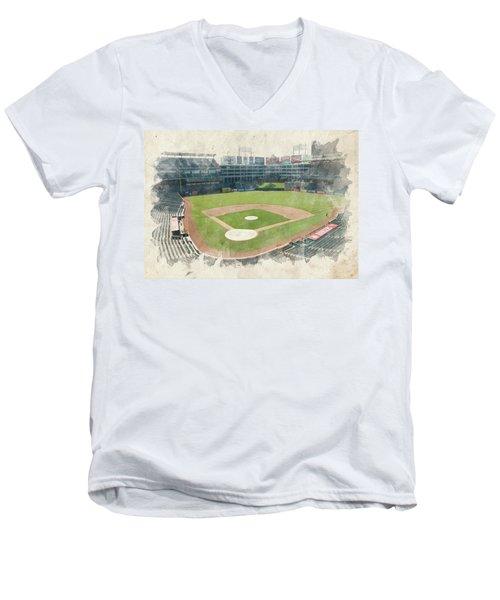 The Ballpark Men's V-Neck T-Shirt