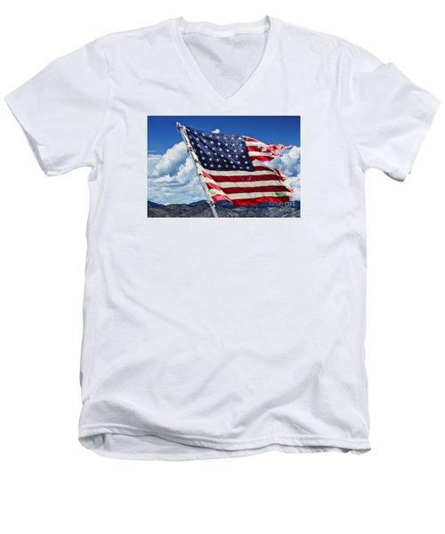 The Battles I Have Seen Men's V-Neck T-Shirt
