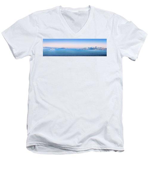 The Bay Men's V-Neck T-Shirt