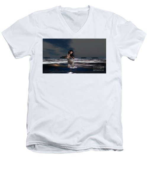 The Beach 5 Men's V-Neck T-Shirt
