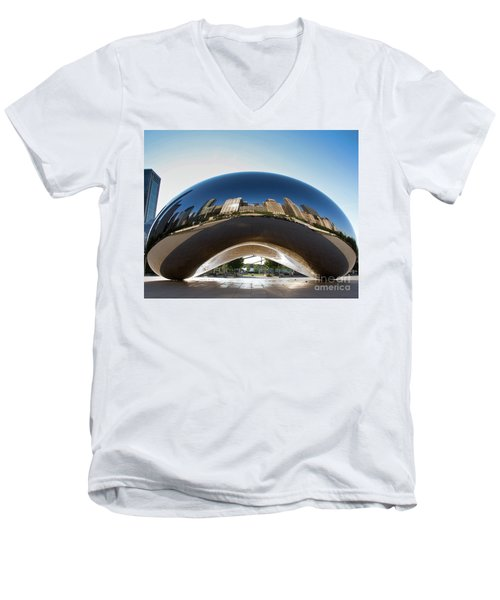 The Bean's Early Morning Reflections Men's V-Neck T-Shirt