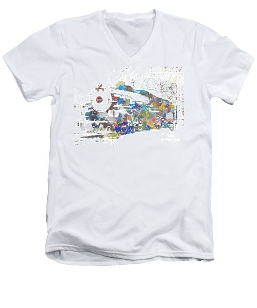 The Big Train Men's V-Neck T-Shirt