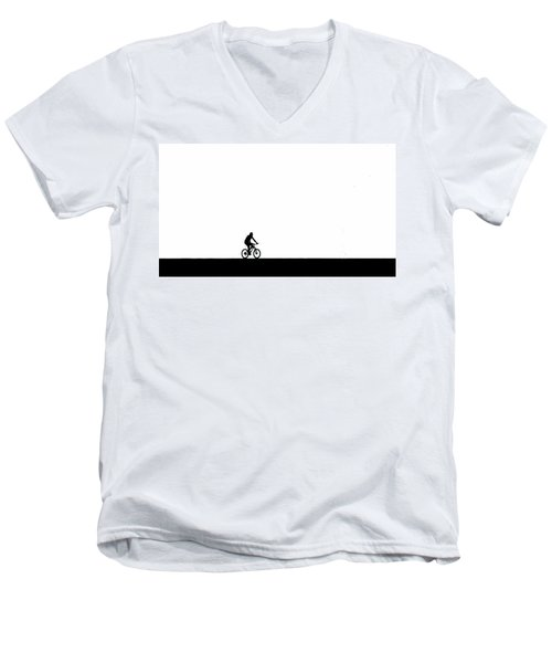 The Bike Ride  Men's V-Neck T-Shirt