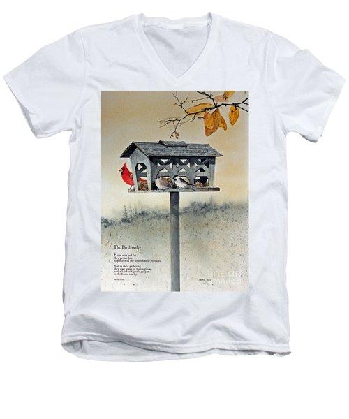 The Birdfeeder Men's V-Neck T-Shirt