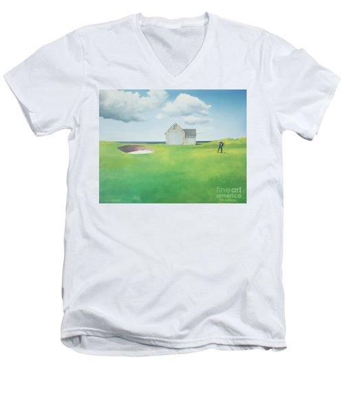 The Boathouse Men's V-Neck T-Shirt