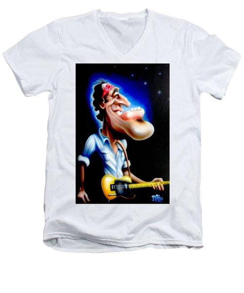 The Boss Men's V-Neck T-Shirt