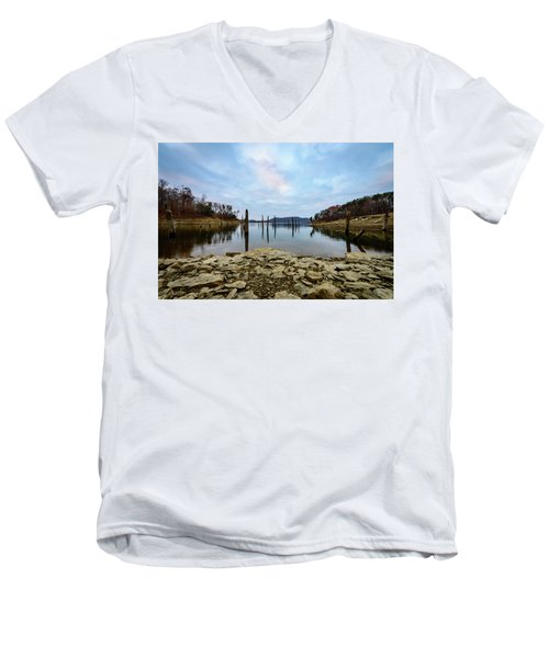 The Bottom Of The Lake Men's V-Neck T-Shirt
