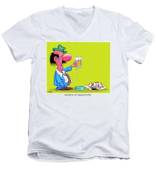The Bozo Collection 2 Men's V-Neck T-Shirt