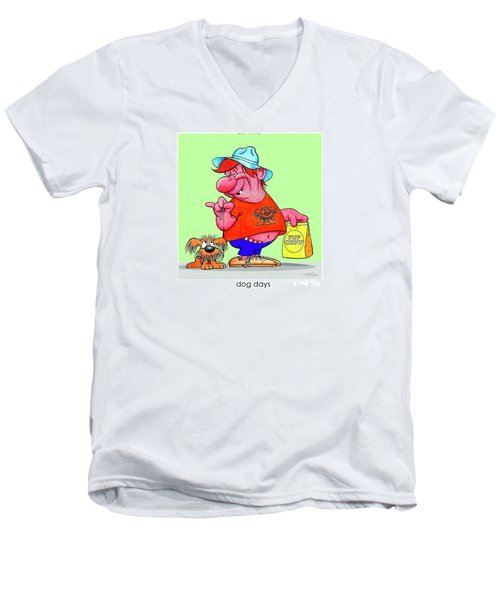 The Bozo Collection 4 Men's V-Neck T-Shirt