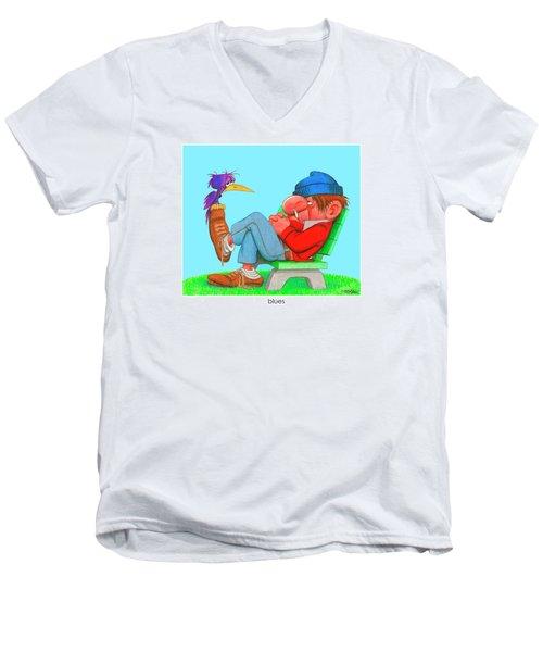 The Bozo Collecton 3 Men's V-Neck T-Shirt