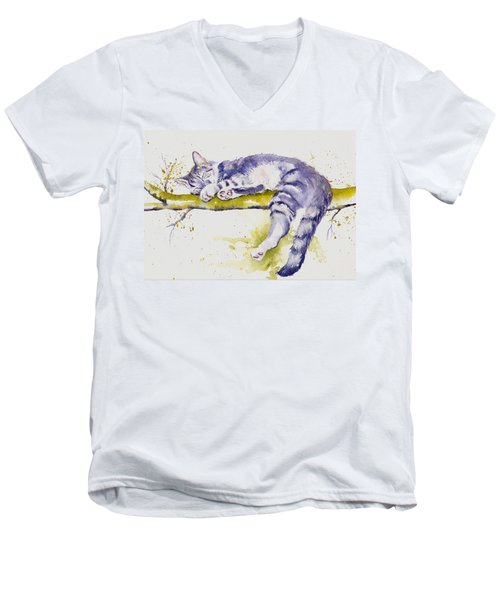 The Branch Manager Men's V-Neck T-Shirt