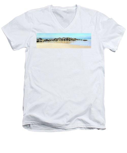The Breakwater Men's V-Neck T-Shirt