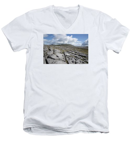 The Burren National Park Men's V-Neck T-Shirt