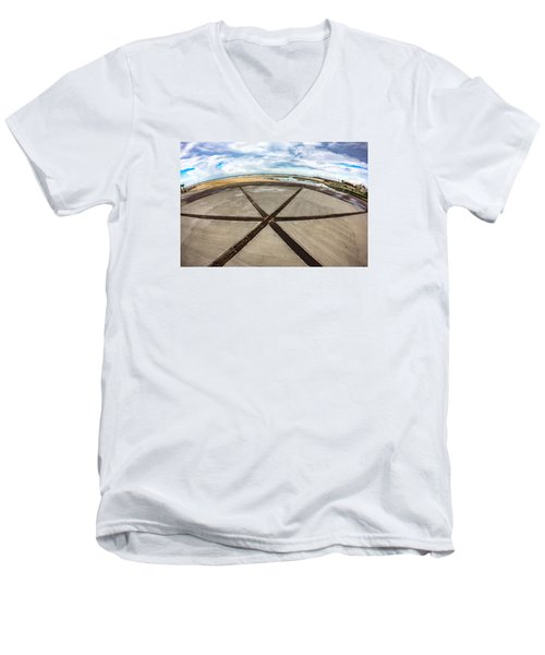 The Center Of The Earth Men's V-Neck T-Shirt
