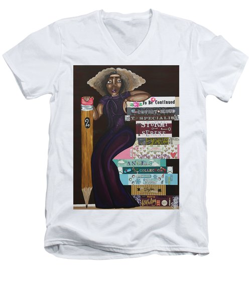 The Chapters Of My Life Men's V-Neck T-Shirt