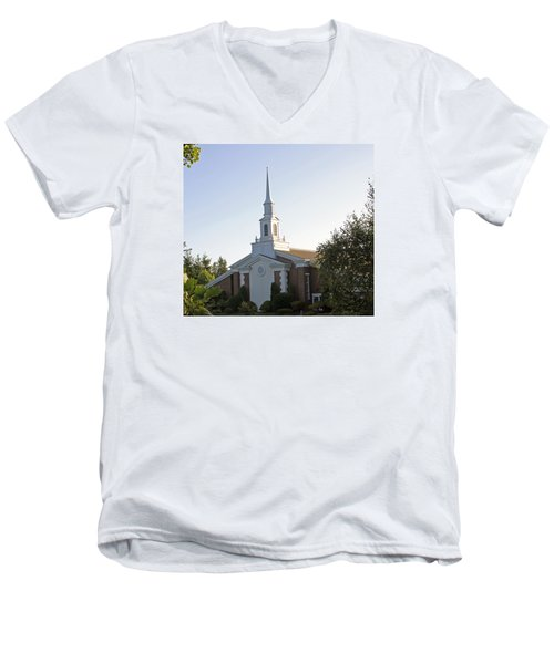 The Church Of Jesus Christ Of Later Day Saints Men's V-Neck T-Shirt