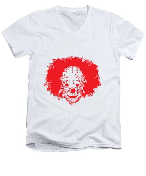 The Clown Men's V-Neck T-Shirt