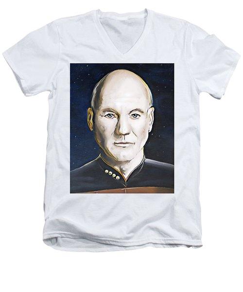 The Commanding Officer Men's V-Neck T-Shirt