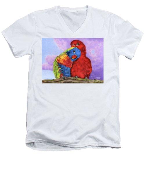 The Color Of Love Men's V-Neck T-Shirt